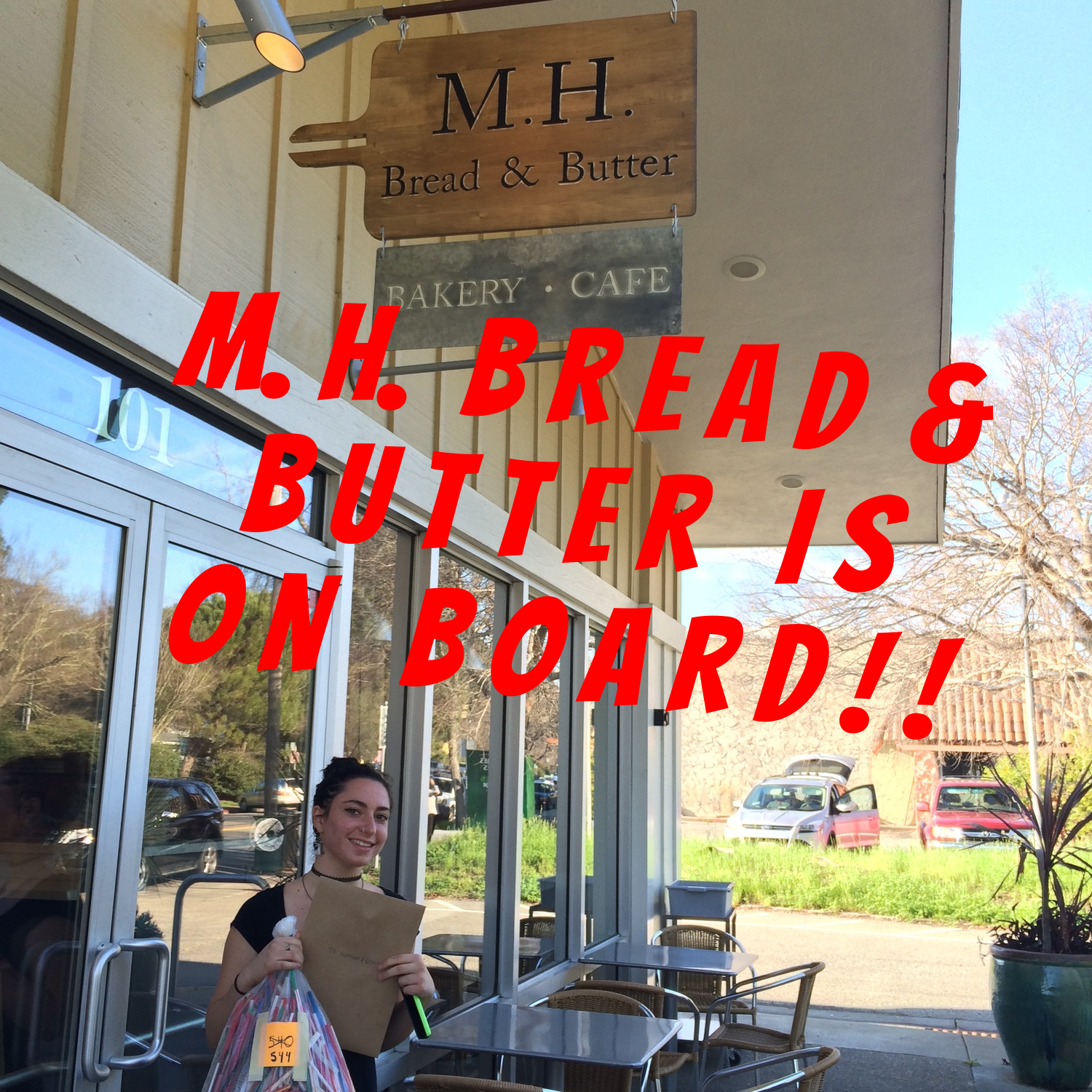 Audrey at M.H. Bread & Butter
