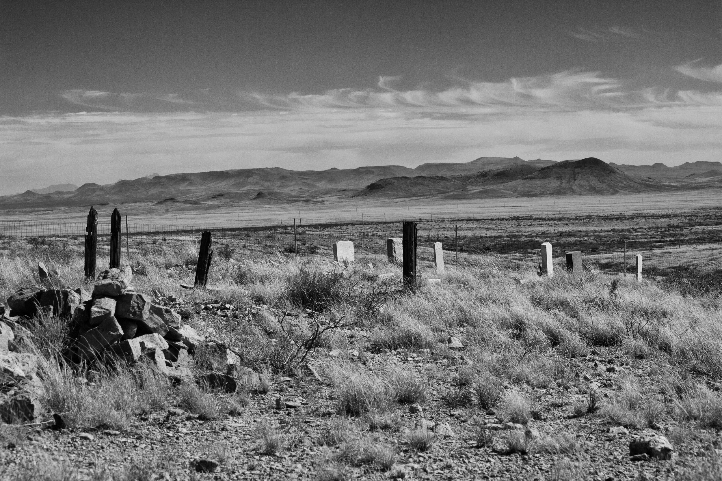 Desert Cemetary, Lake Valley, NM