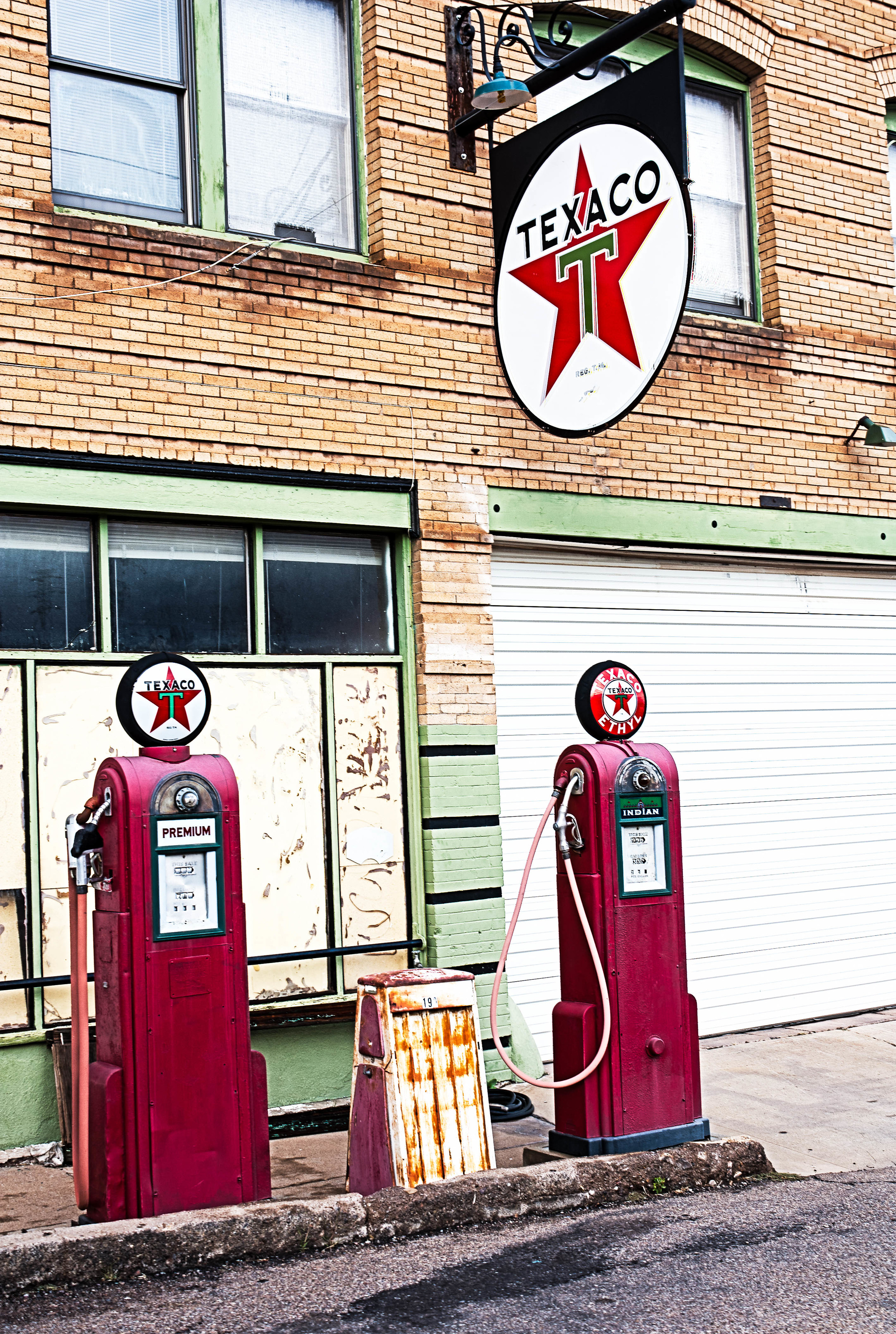 Gas Pumps, Bisbee, AZ