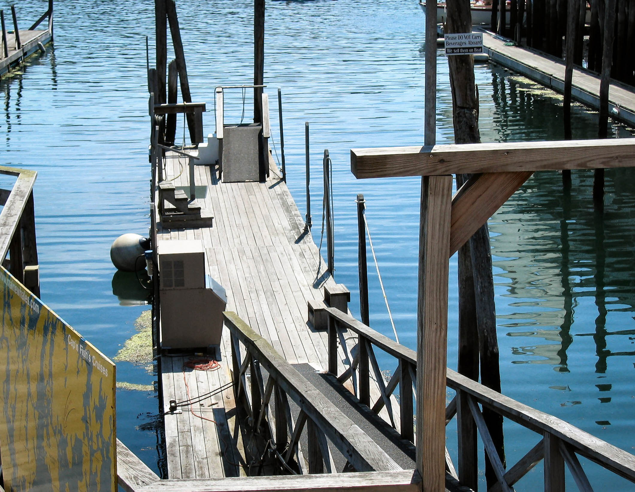 Dock, Boothbay, Maine