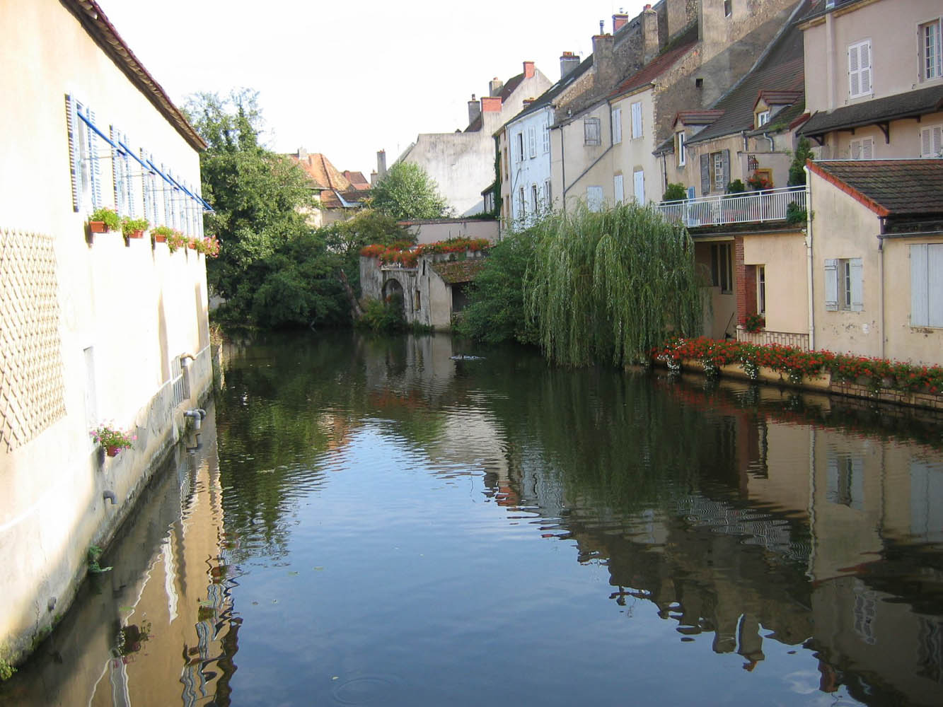 Canal in Burgundy