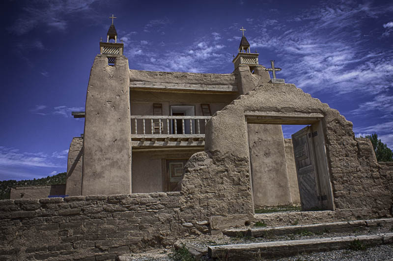 St. Jose de Garcia Church, Trampas, NM