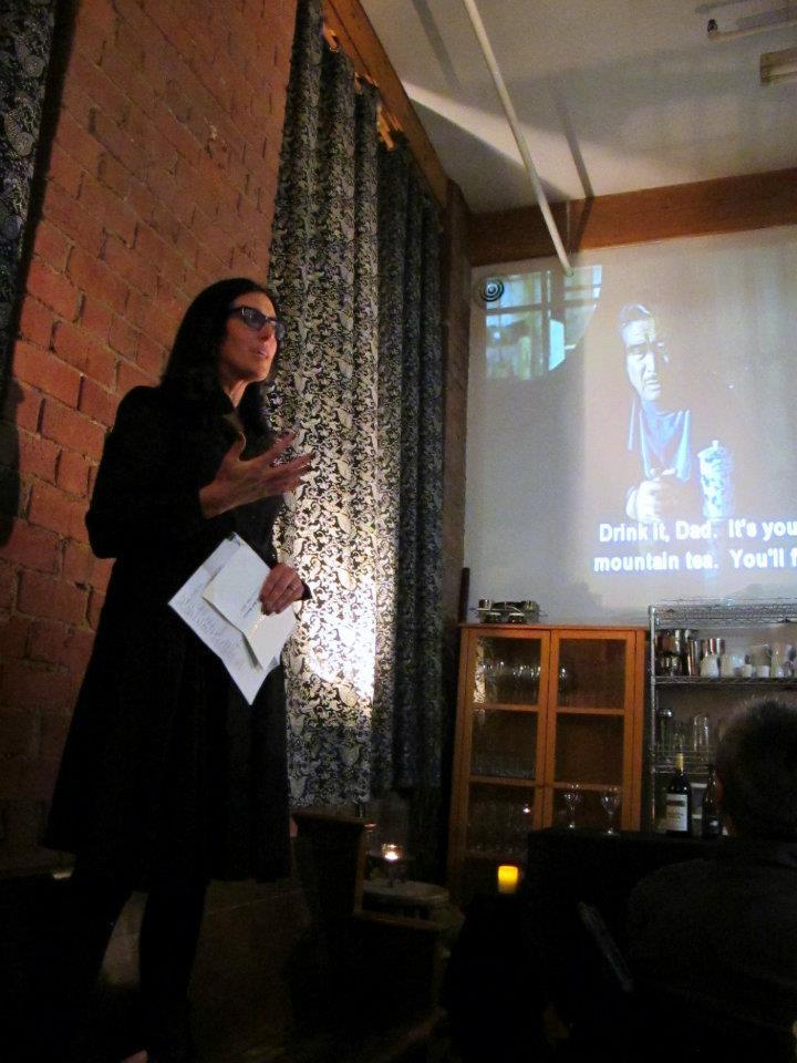 Carol Devine storyteller, Eat Drink Man Woman, Reel Eats