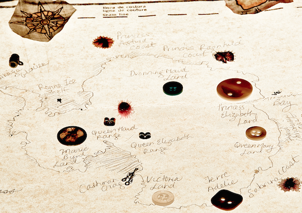 Prototype map Carol's Mapping Antarctic Women and Wilderness paper, SCAR Colorado May 23, 2015