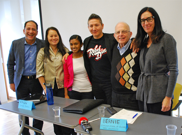 TPP Town Hall. People's Climate Movement with Ali Ehsassi, Member of Parliament for Willowdale, Emmay Mah, Vicki Jewt, Raul Burbana, Common Frontiers, Bernard Wolf - Prof. Emeritus at Schulich School of Business and Carol Devine