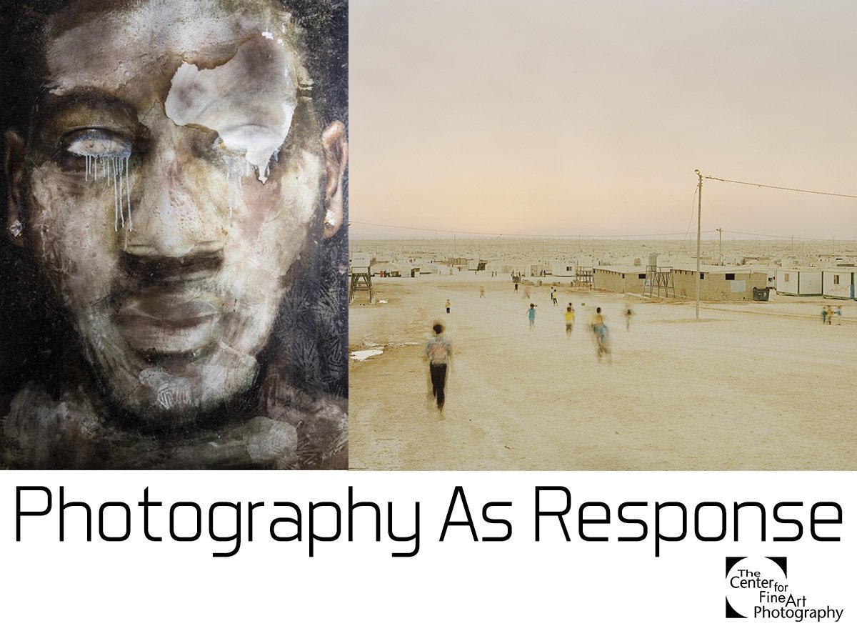 """Image 'Wave' from Aquamess: Portraits of garbage at the top of the world received an honourable mention in the group exhibit Photography as Response, Center for Fine Art Photography, Colorado Oct 6-Nov 11, 2017 """"Photography as Response provides photographers and our community with a platform to address current local and global social issues."""""""
