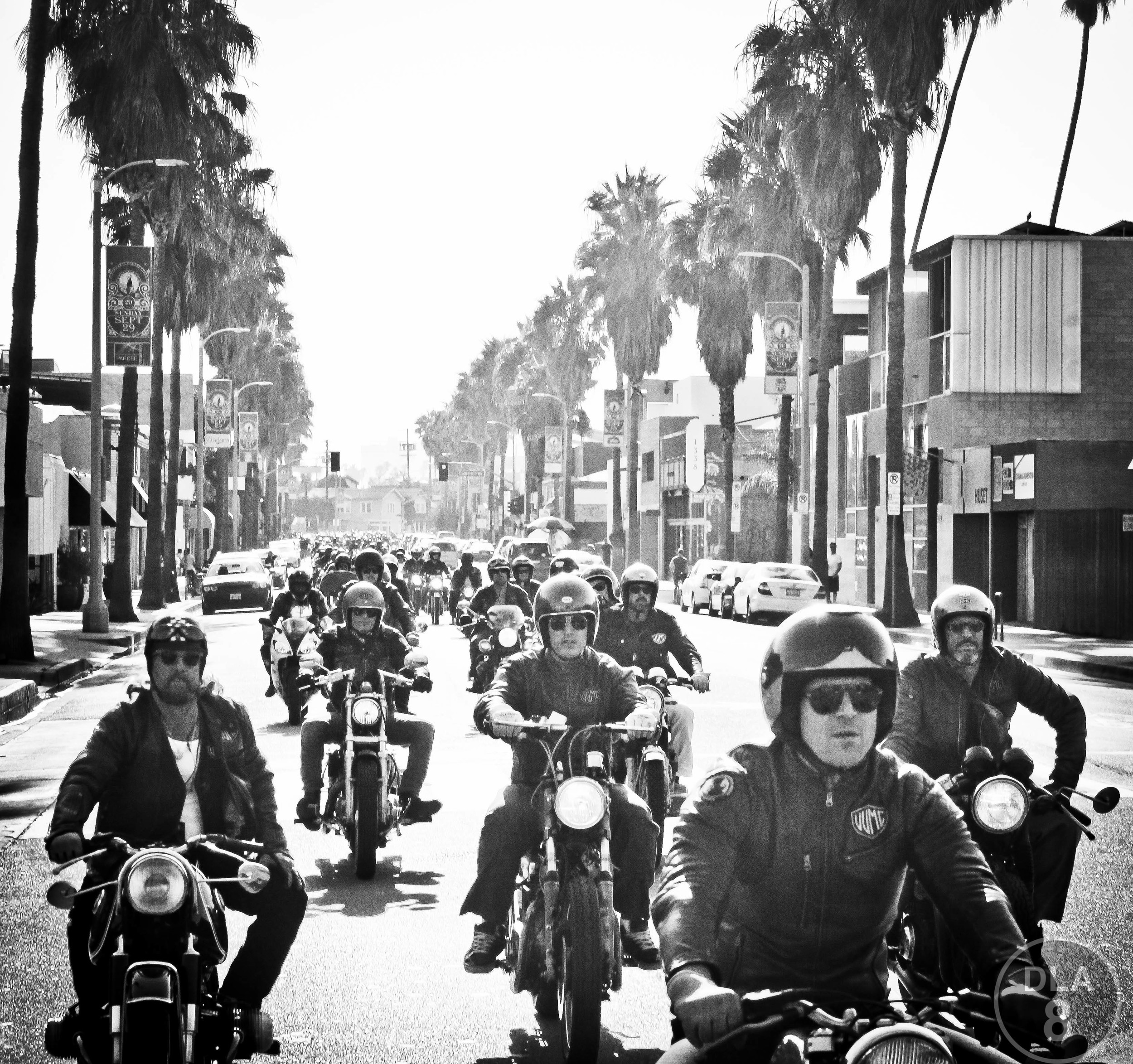 Venice Vintage Motorcycle Rally 2013. Photo Courtesy VVMC