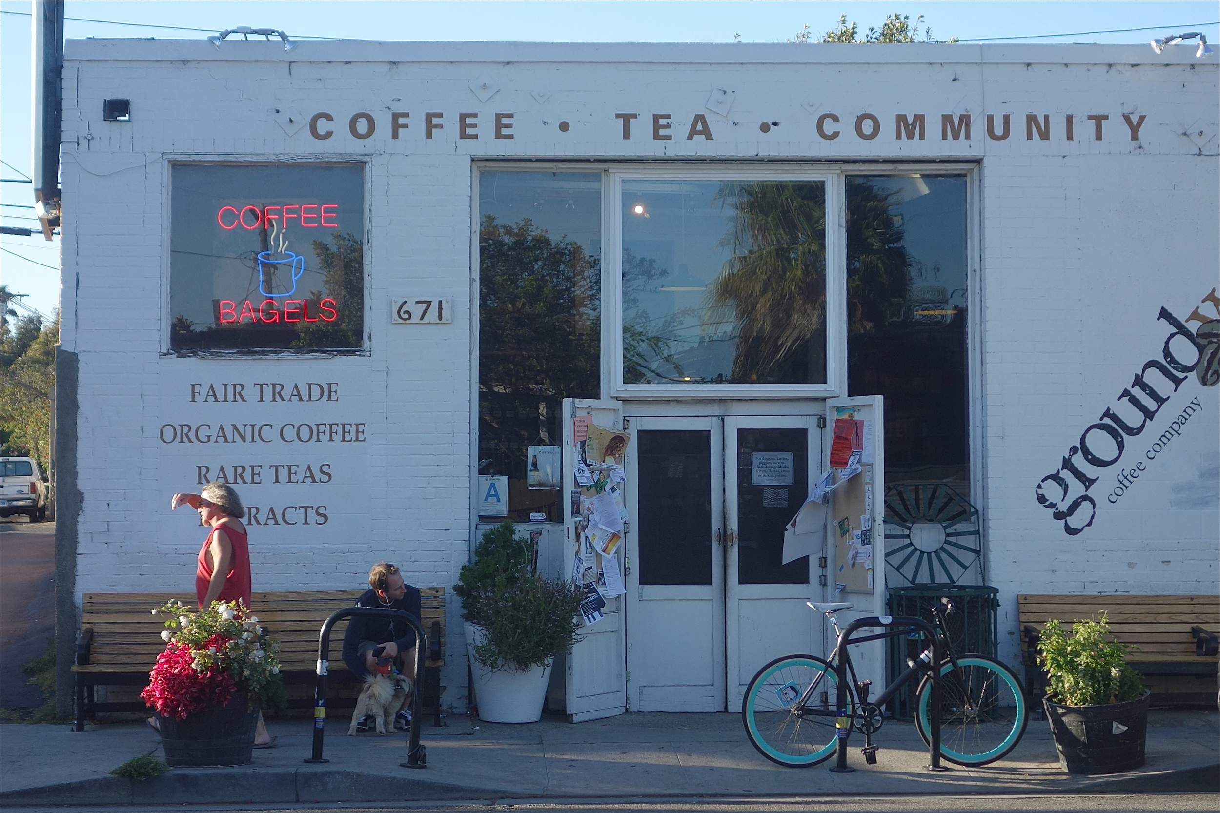 Groundwork Coffee on Rose Ave. (Photo by Nicole Reed)