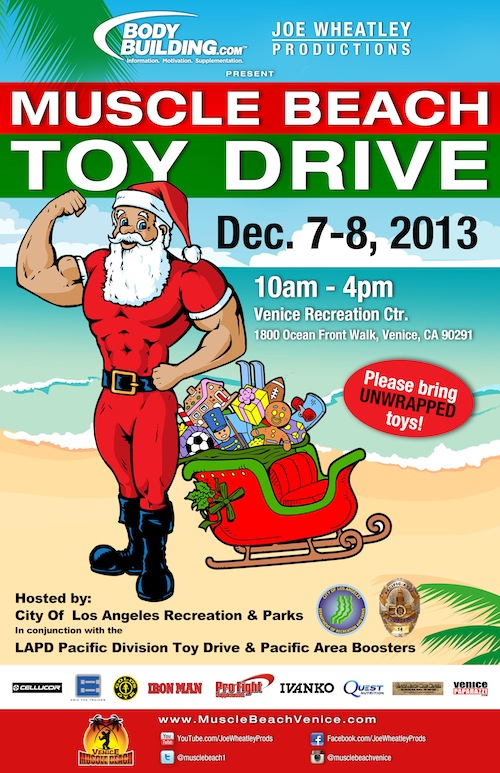 Muscle Beach Toy Drive