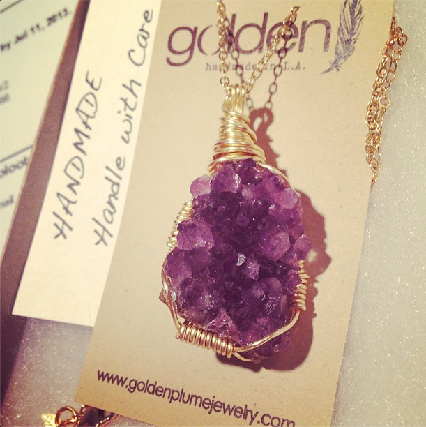 """Ancient Egyptians wore amethyst for protection. It's also known as """"Bishop's Stone,"""" and is worn to this day by Catholic Bishops as a symbol of spiritual devotion. Amethyst is associated with healing, clearing negative energy from the home, and February birthdays."""