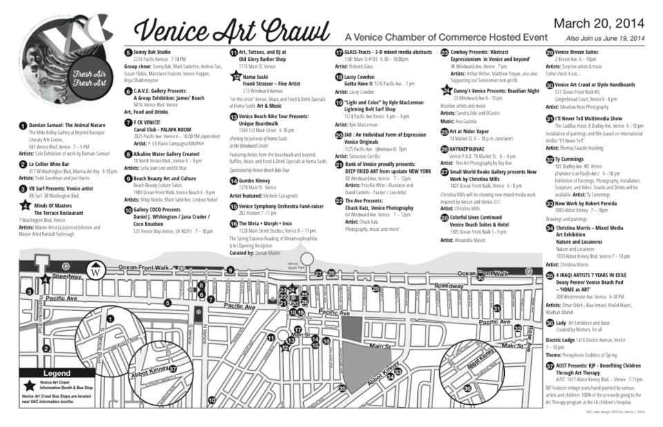 Venice Art Crawl Map March 2014.png