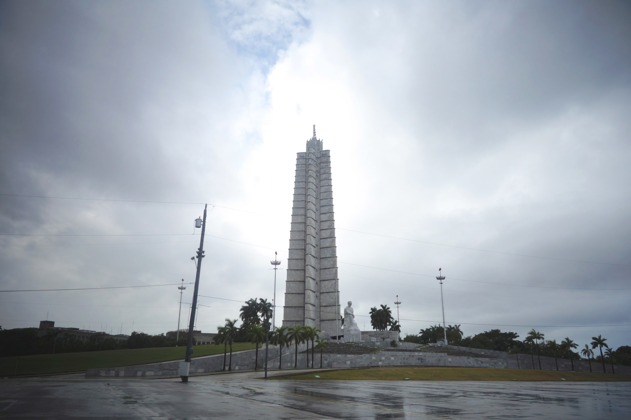 The Jose Marti Memorial honors the national hero who was instrumental in leading and winning Cuba's independence from Spain.