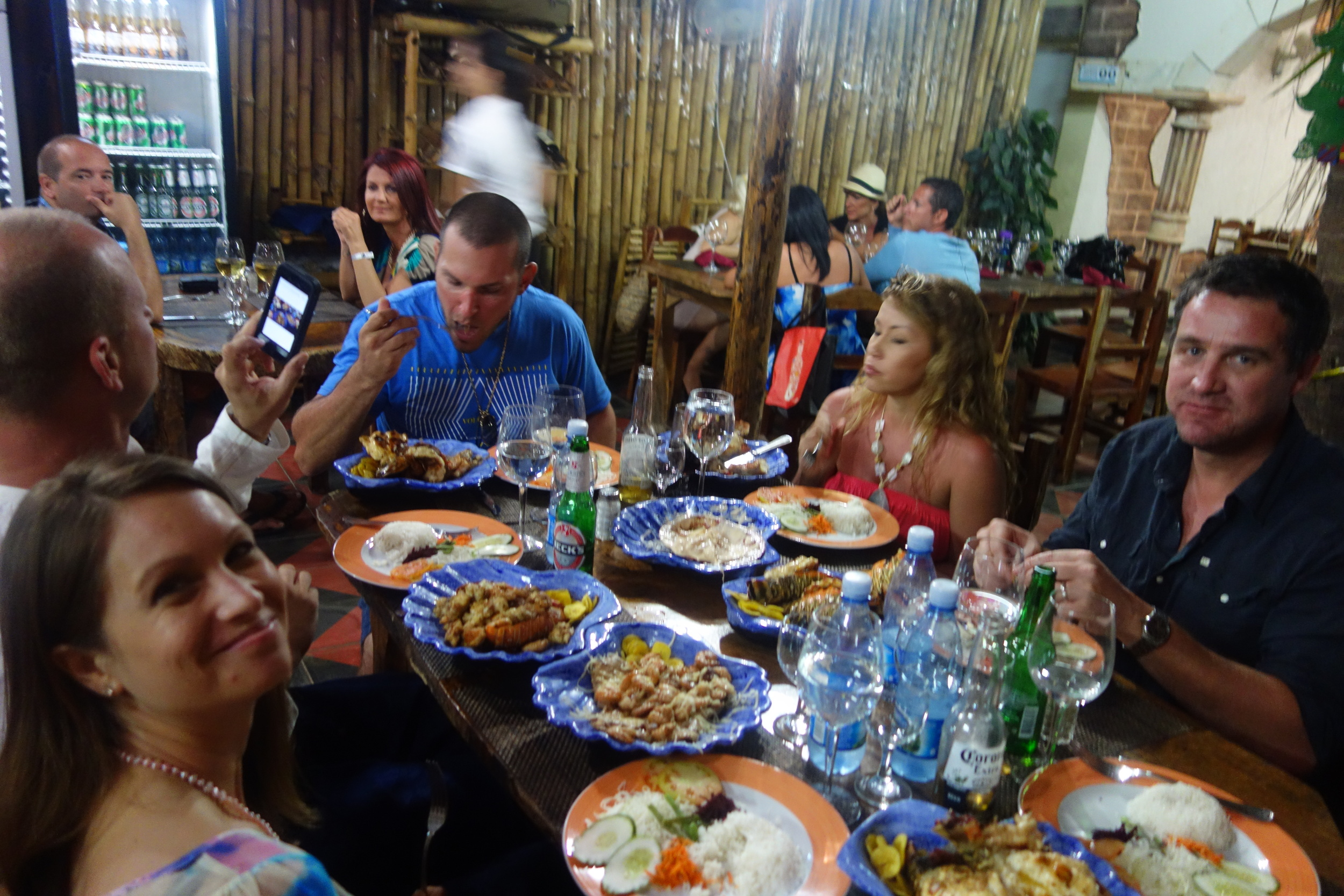 Fortunately, Lorena is fluent in Spanish, so not only did we find a great spot for grilled lobster, but along the way, our driver gave us a tour of Varadero.