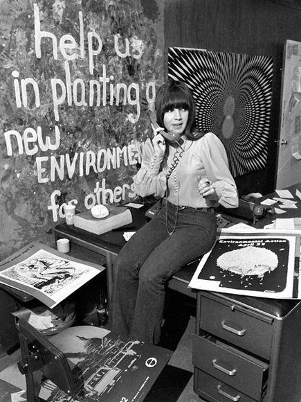 Earth Day 1970 Photo: AP