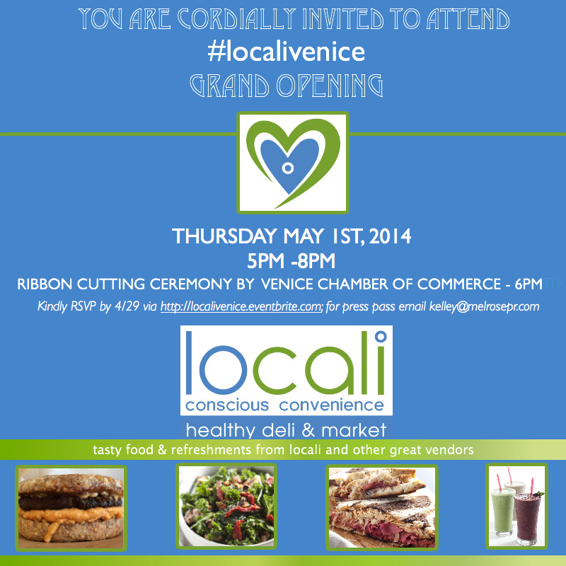 Locali Venice Grand Opening - Lincoln and Rose May