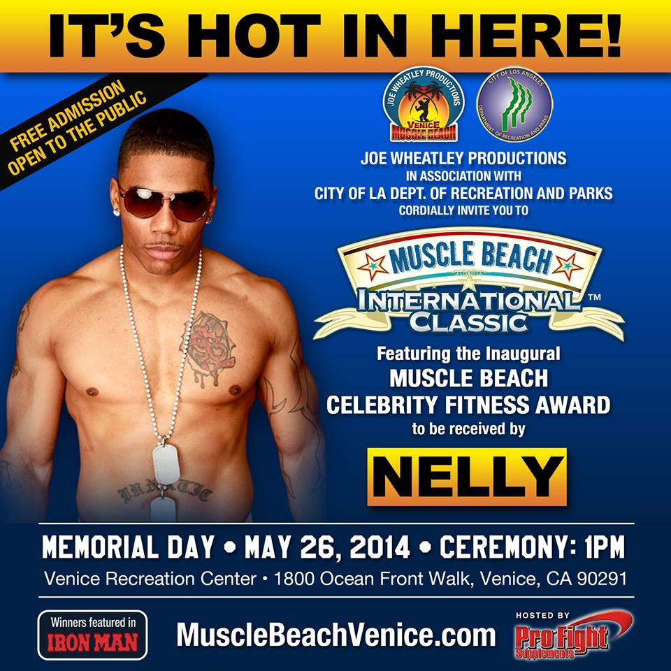 Muscle Beach Celebrity Fitness Award