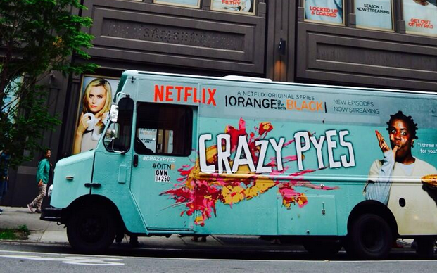Crazy Pyes Food Truck ( Photo via  OITNB  )