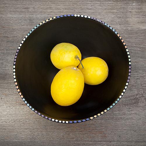 Luna Garcia multi-color dot bowl