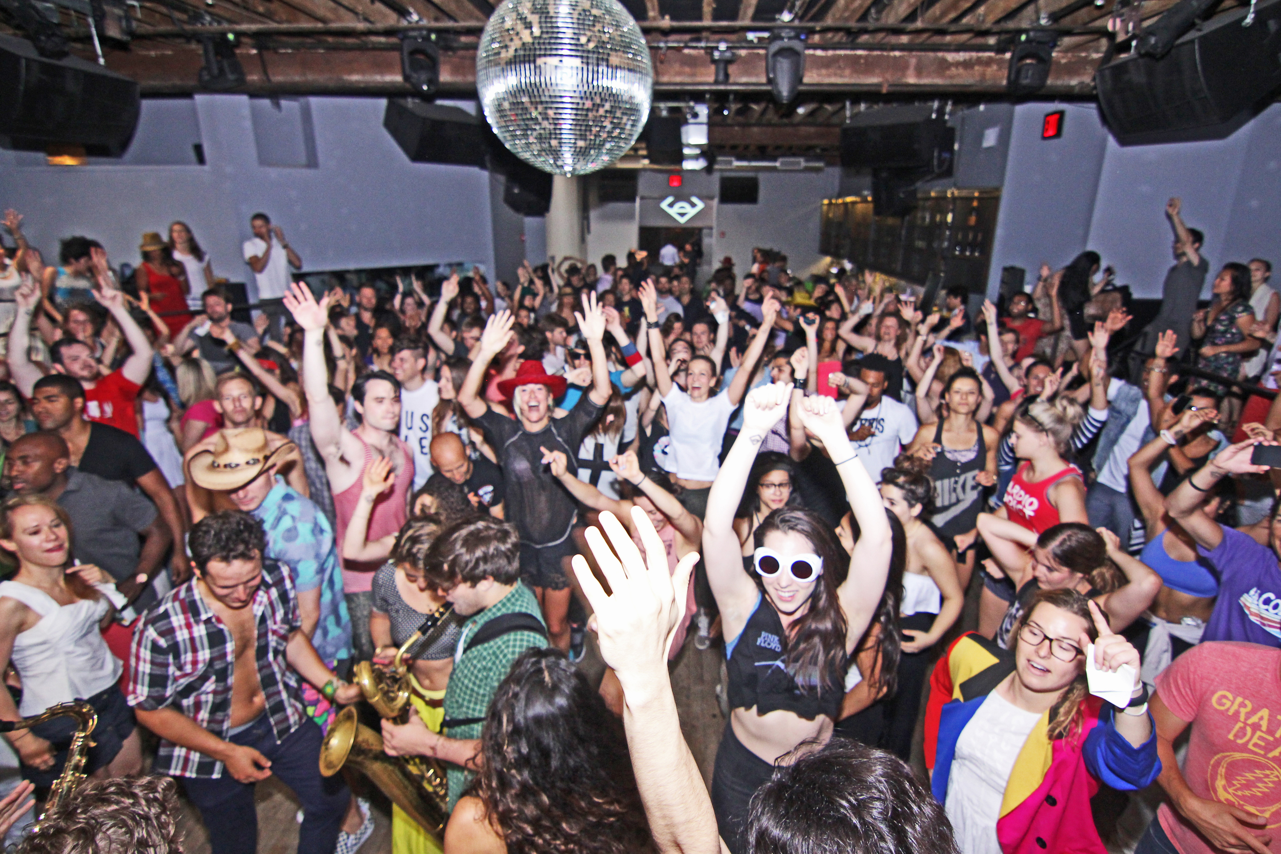 Daybreaker dance party NYC
