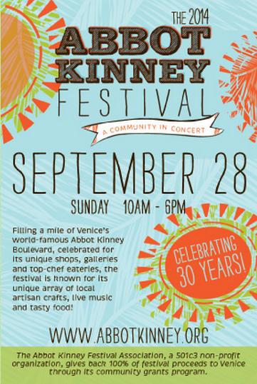Abbot Kinney Festival 2014
