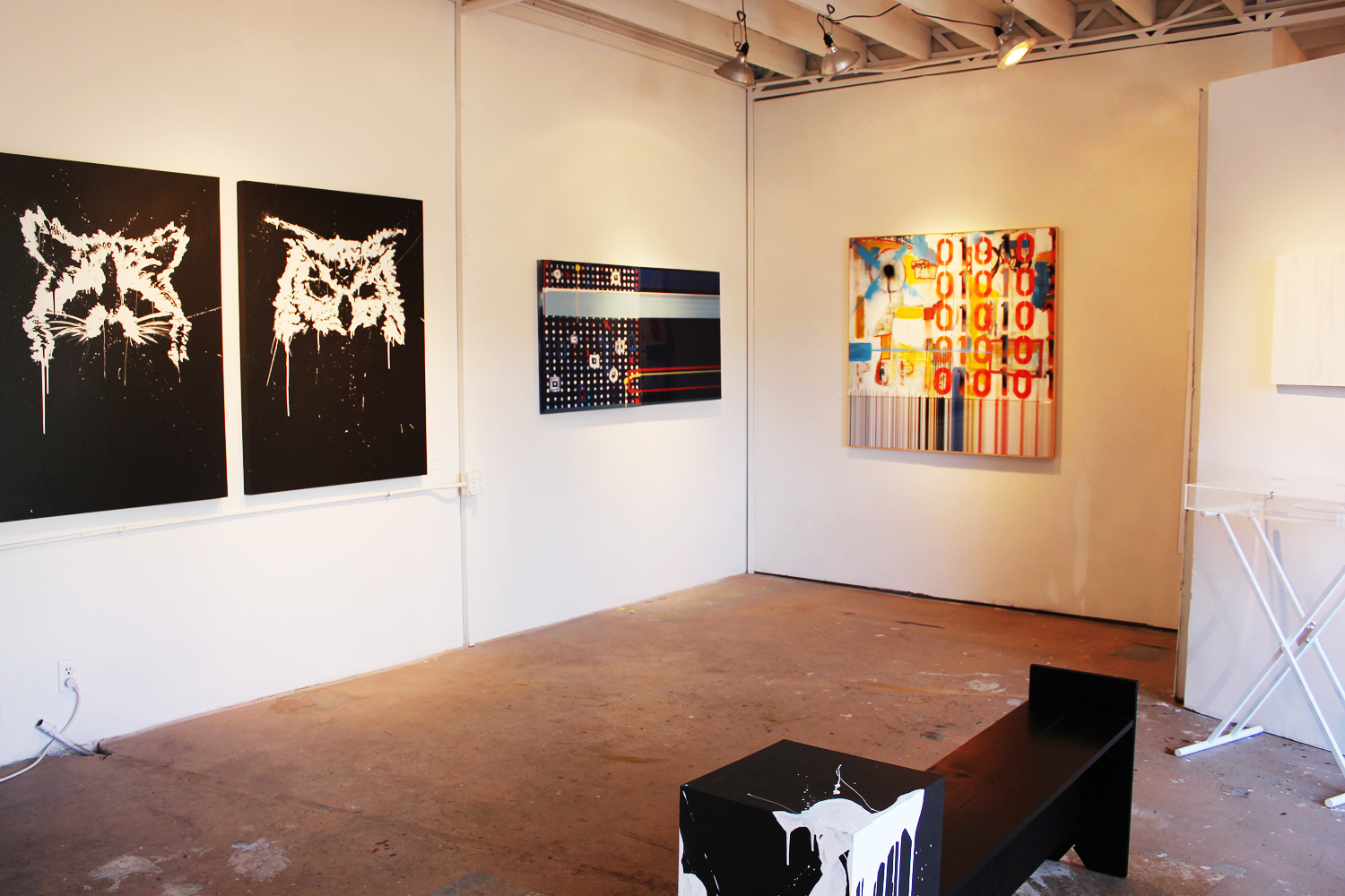 WNDO is equal parts gallery and event space. It's constantly changing, says Bisco Smith.