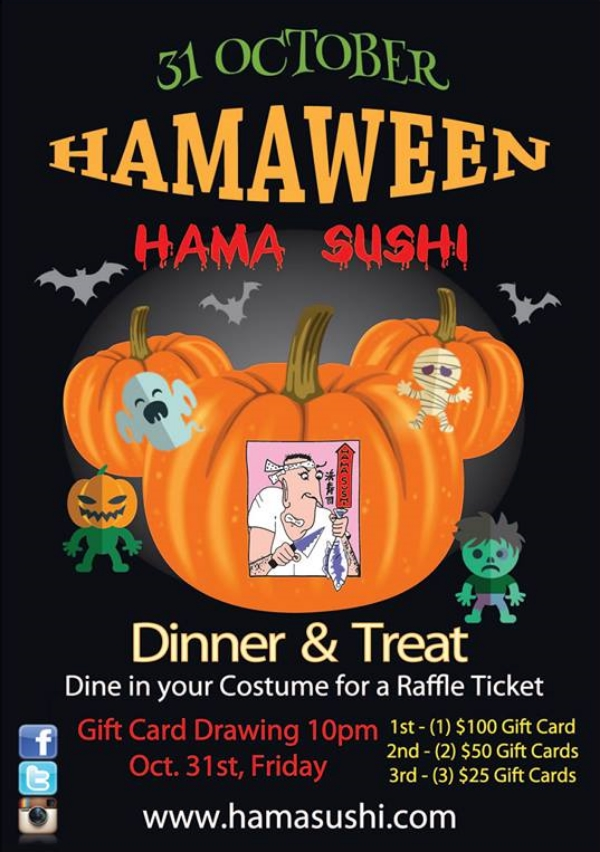 Hama Sushi Halloween