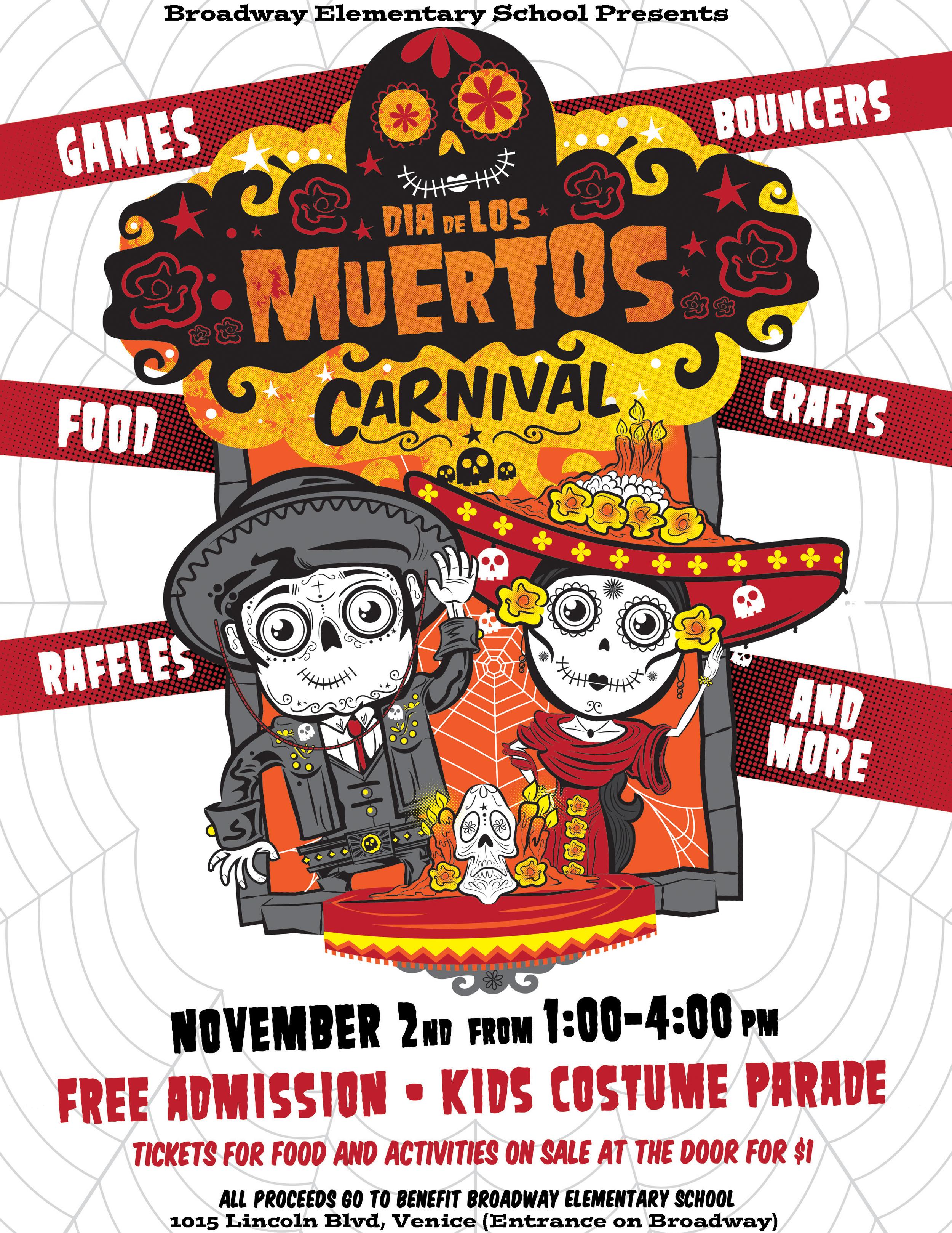 Dia de Los Muertos Carnival Venice