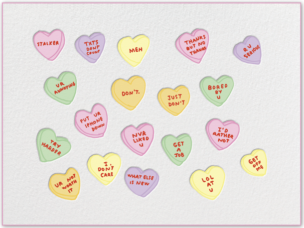 Valentine's Day greetings:  Paperless Post