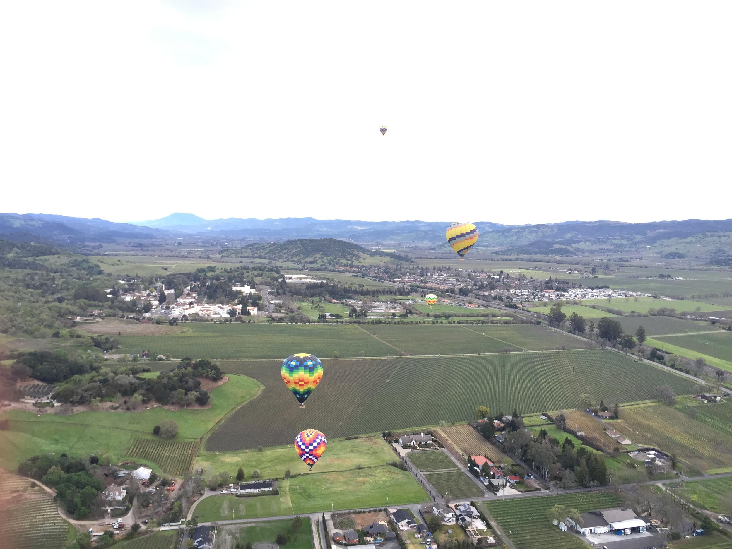 Lincoln & Rose - Hot Air Balloon Ride