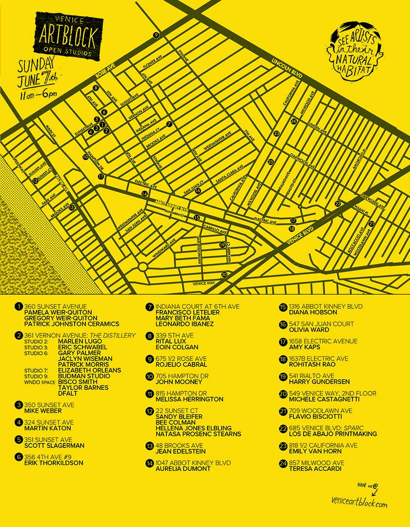 ArtBlock Map