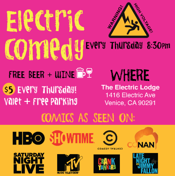 Electric Lodge Comedy