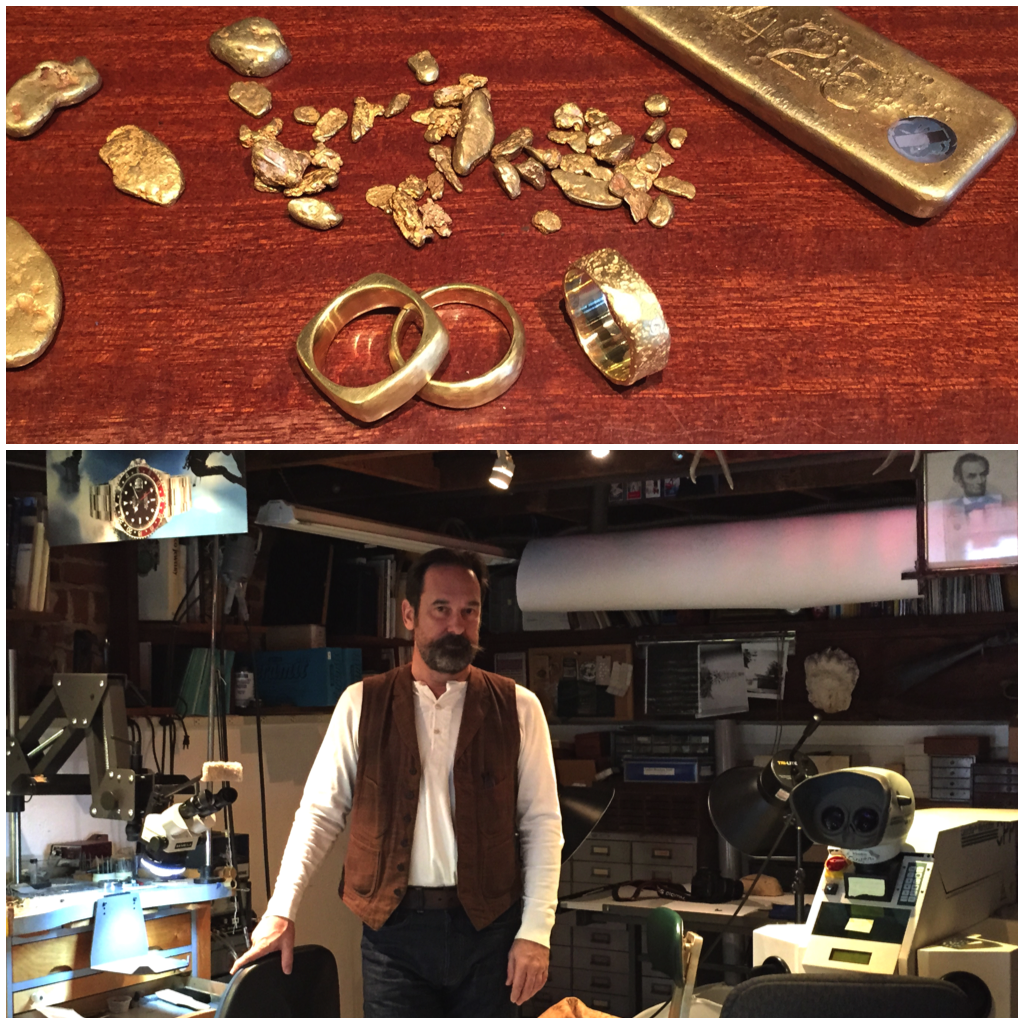 Todd Bracken jewelry studio in Venice ( Photos by Nicole Urso Reed )
