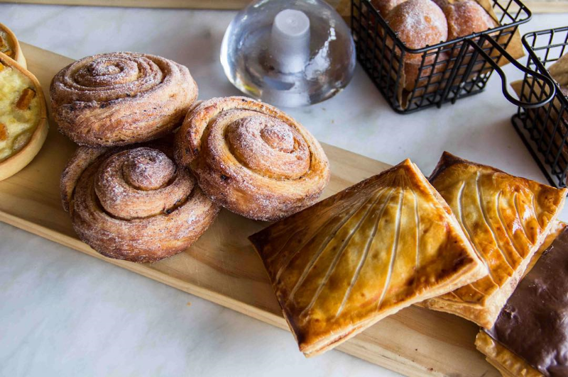 Fresh morning pastries ( Photo by  Skandia Shaffer  for  @superbafoodandbread  .)