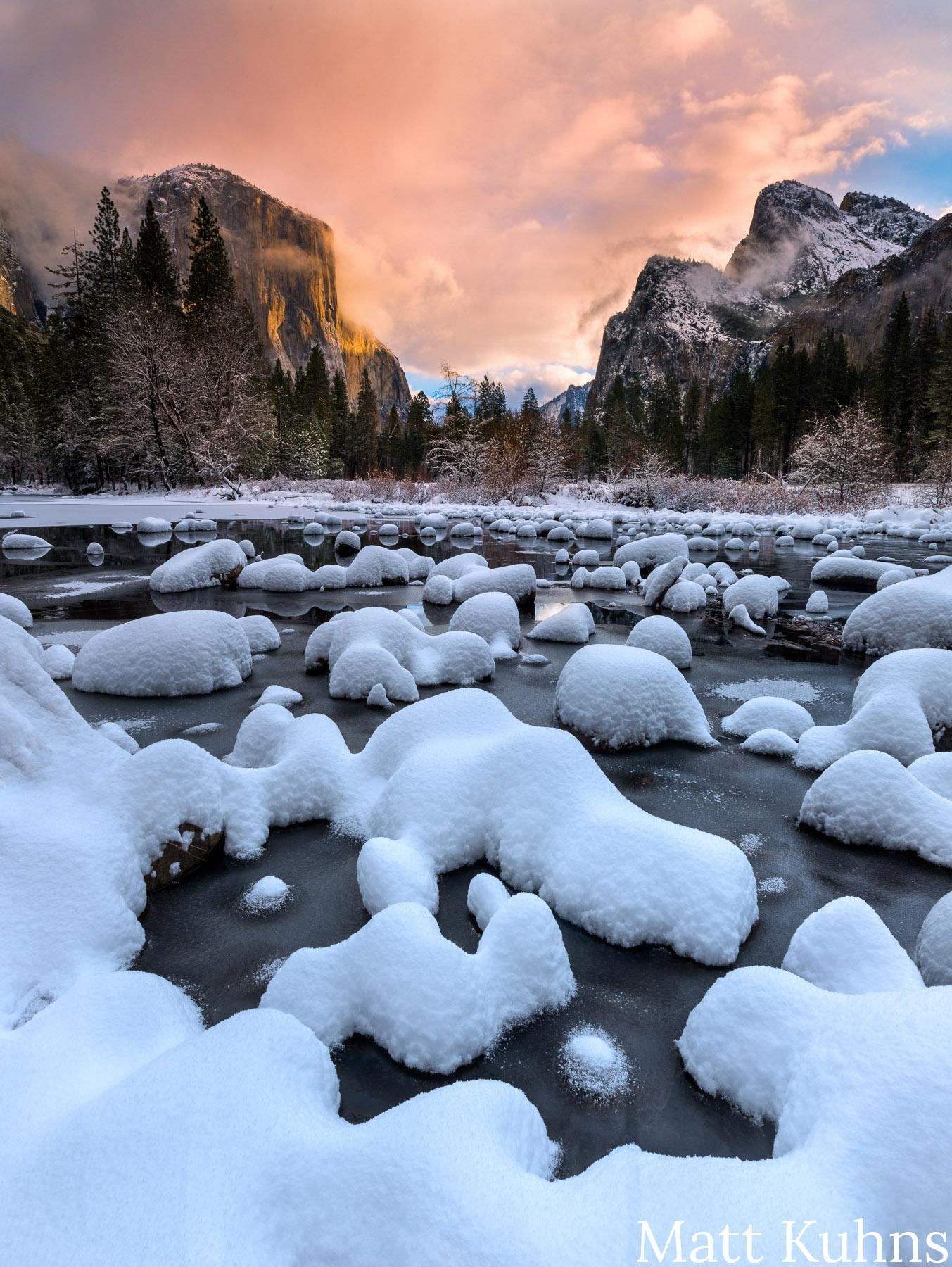 """Photo by Matt Kuhns """"Gates of the Valley"""" at Yosemite National Park, California"""