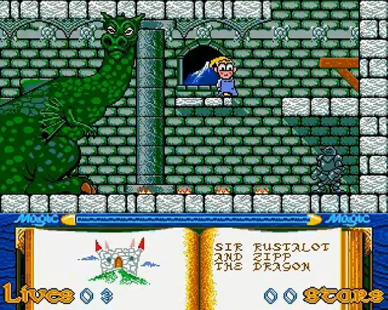 Oooh, look at this! The Amiga version of Slightly Magic. Expect Slightly Spooky to look a little like this...