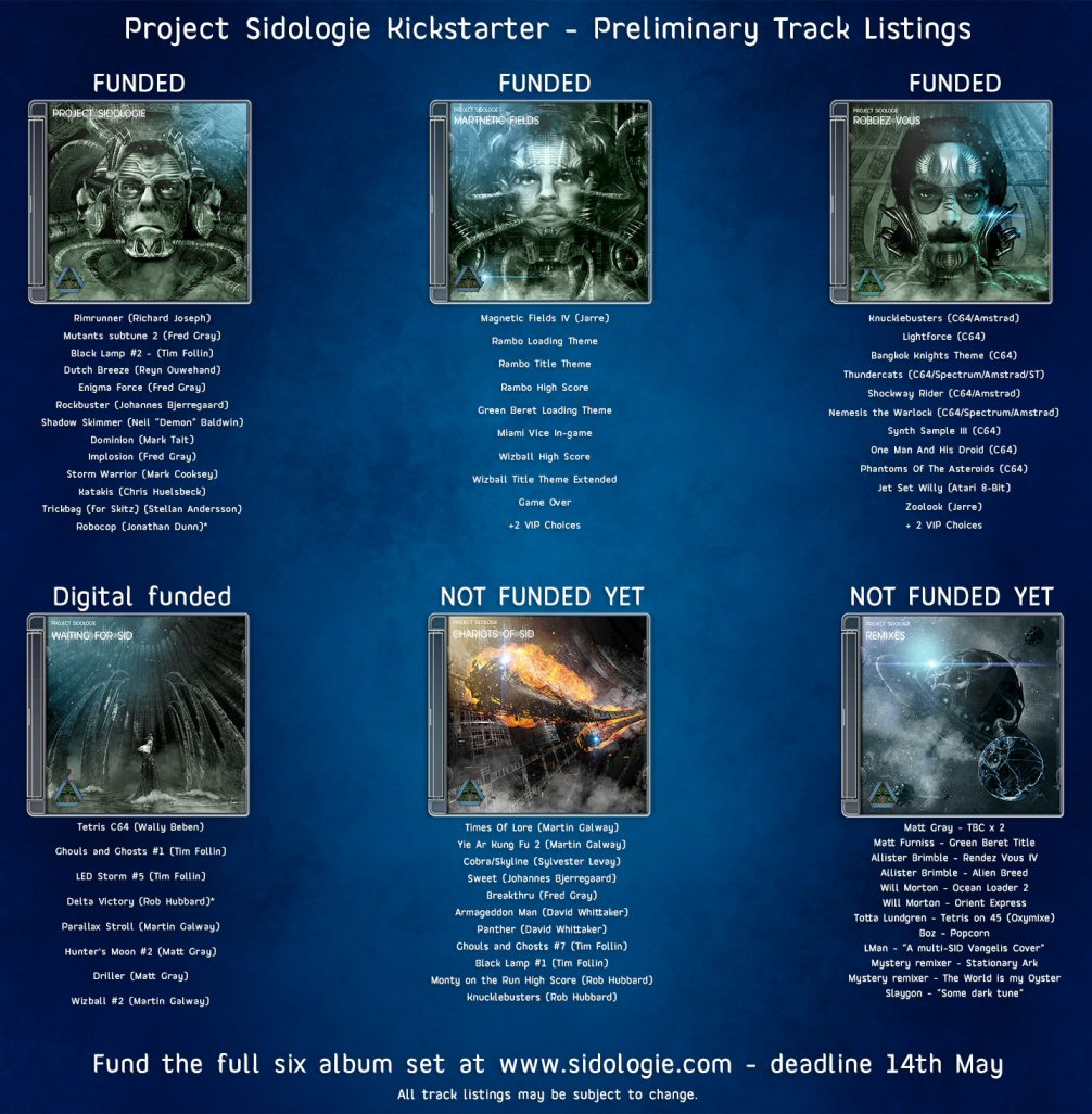 Wow, that's an amazing array of aural ambience. Back it, and it could all be yours!