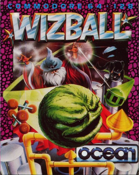 Bob's legendary Wizball cover art.