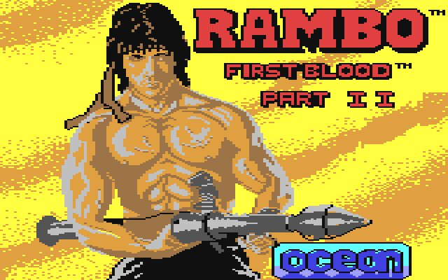 If you pushed Rambo, he's say Ocean Loader 1 is his favourite.
