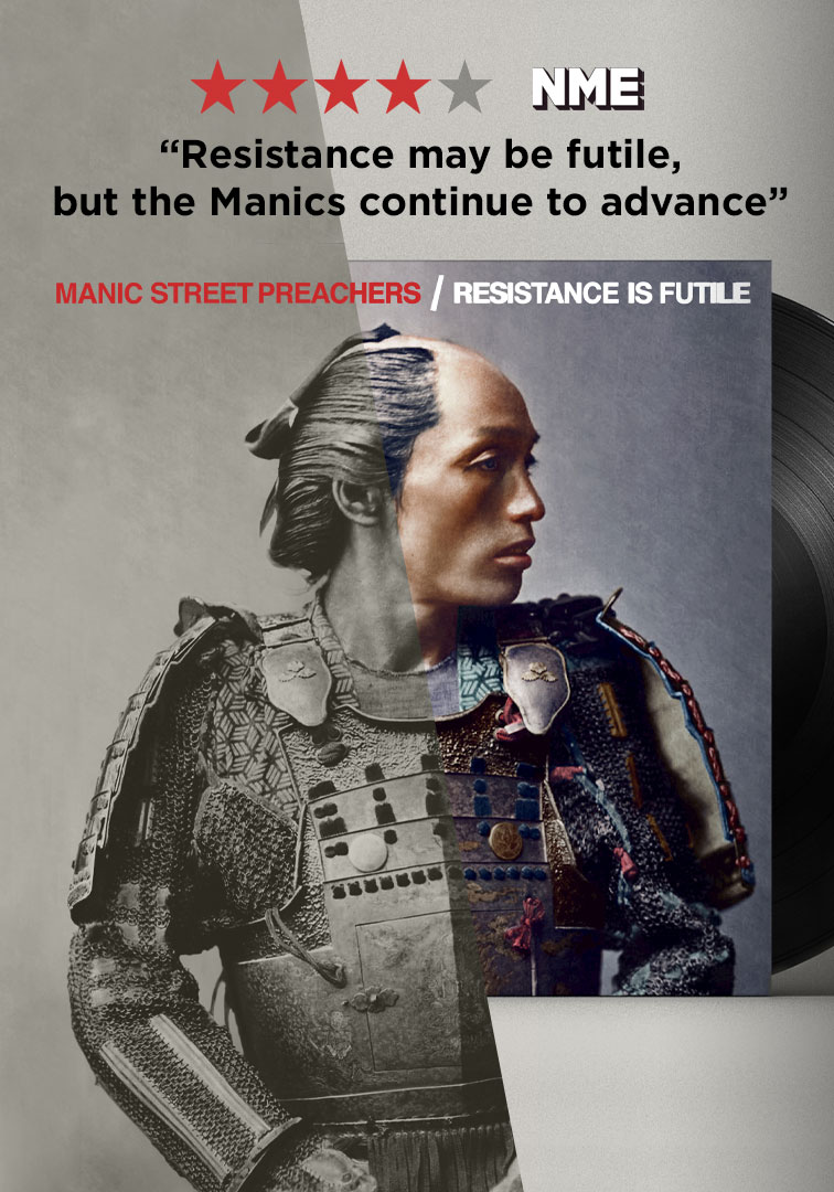 The Making ofResistance is Futile - The Manic Street PreachersColumbia RecordsColumbia Records commissioned Dynamichrome to digitally colorize an original hand-tinted photograph from Franz von Stillfried-Ratenicz's famous Japanese portraits of the Meiji era •