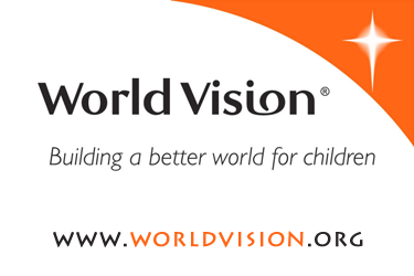 Click image for more info on how you can partner with World Vision to provide education, food and housing for impoverished families and children across the globe in the name of Jesus Christ.