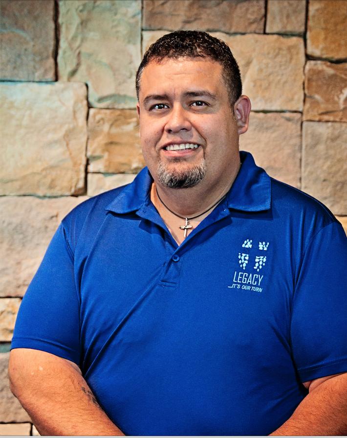 Larry Castaneda (Worship Minister)