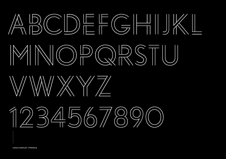 Lexus Typeface