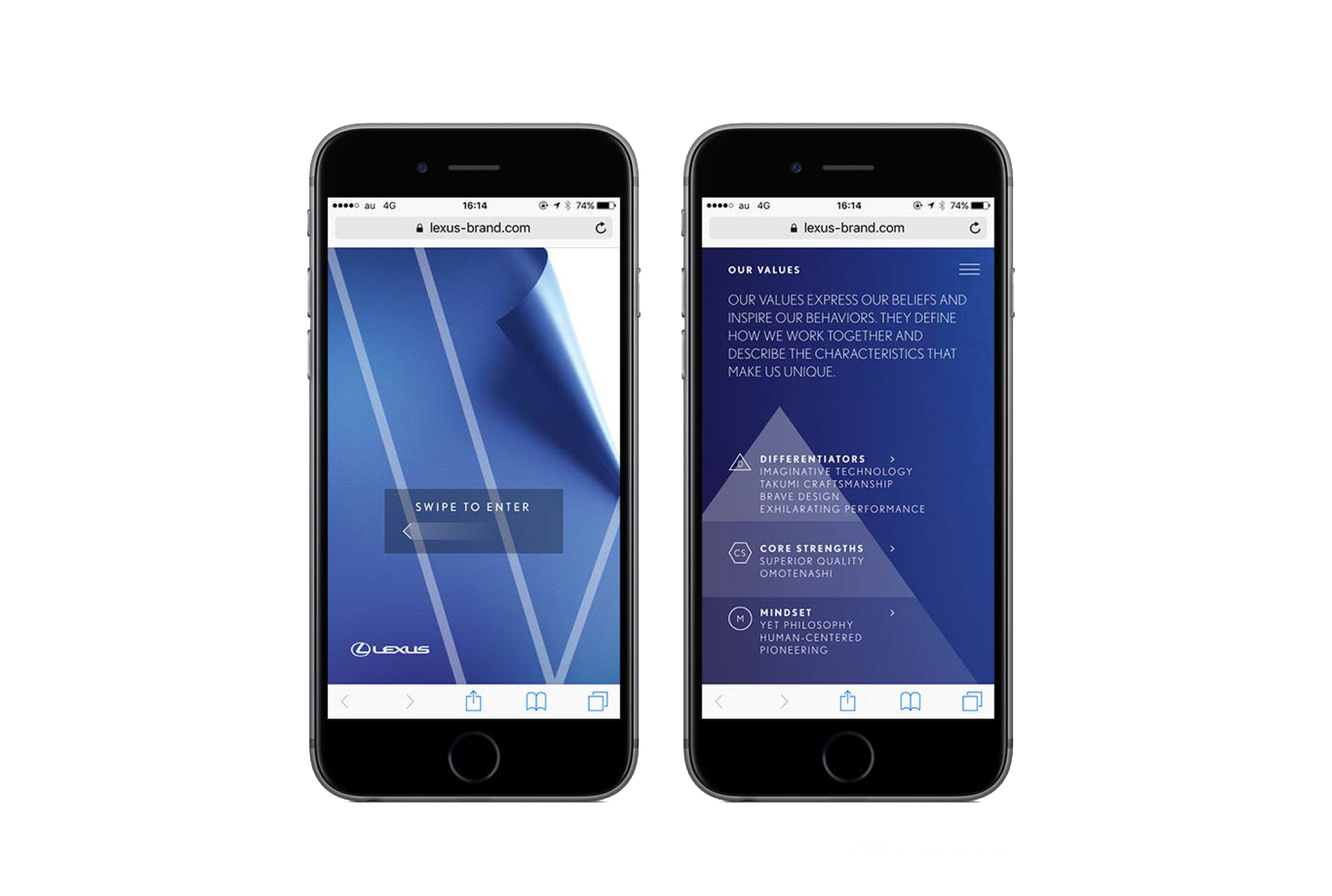 Lexus Pocket Guide Web app