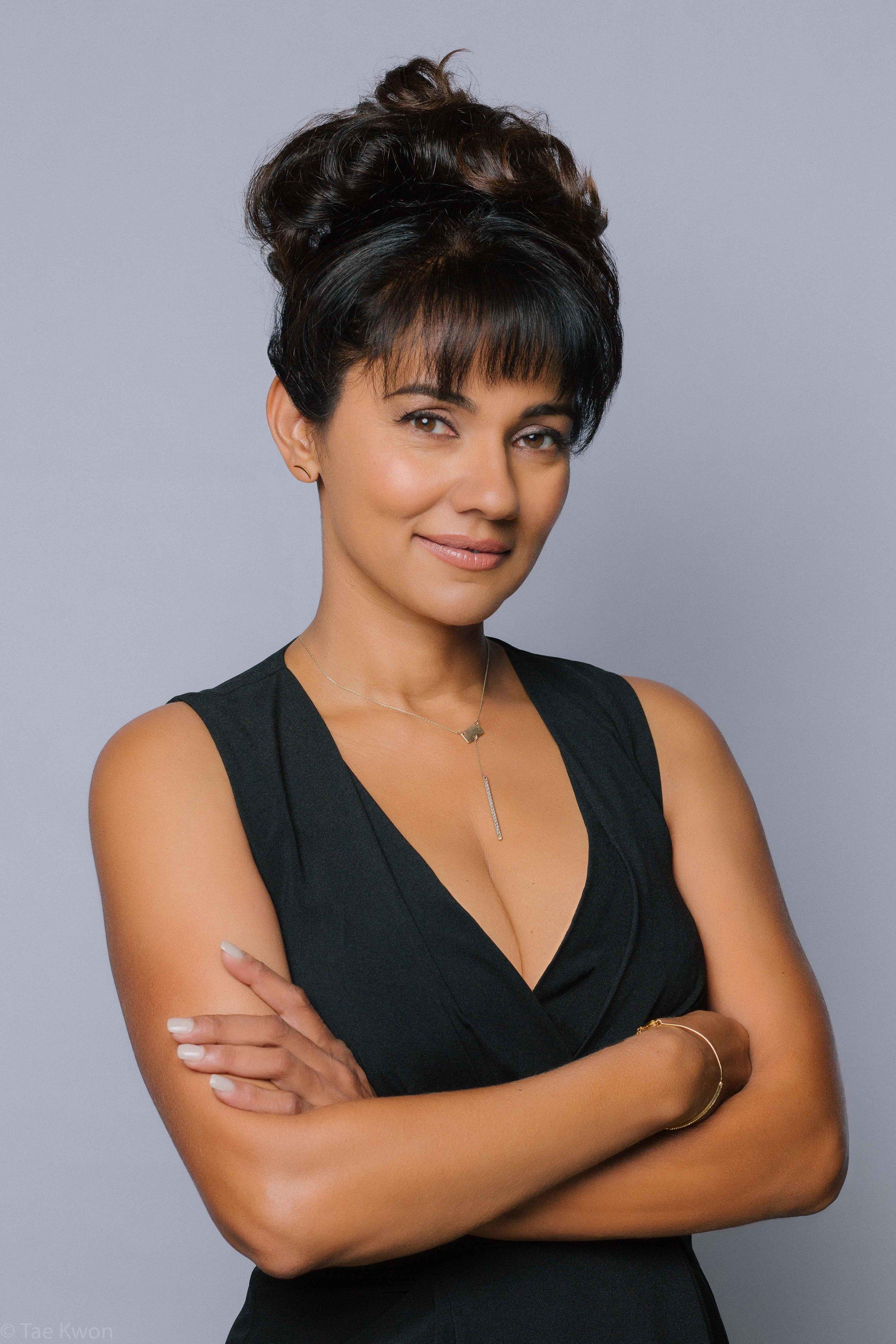 Suleka Mathew:  Actress