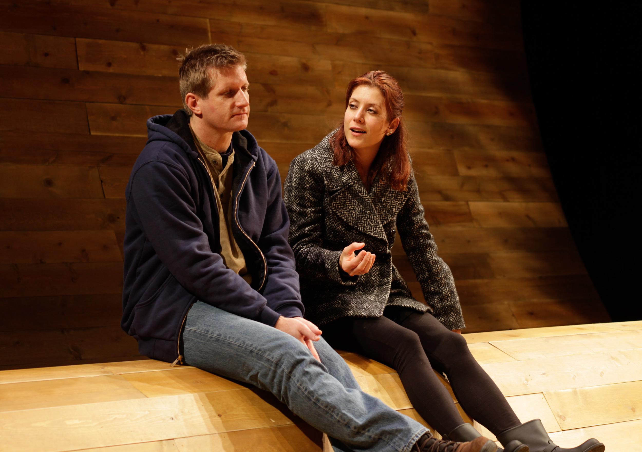 Kate Walsh & Paul Sparks