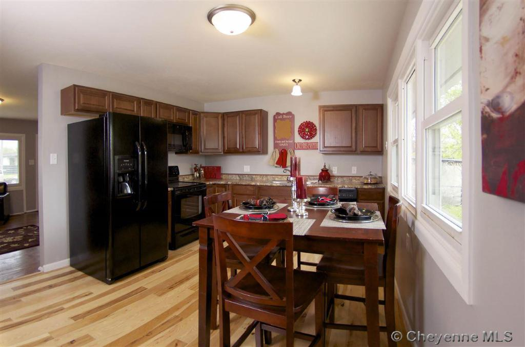 This renovation included a completely updated kitchen!