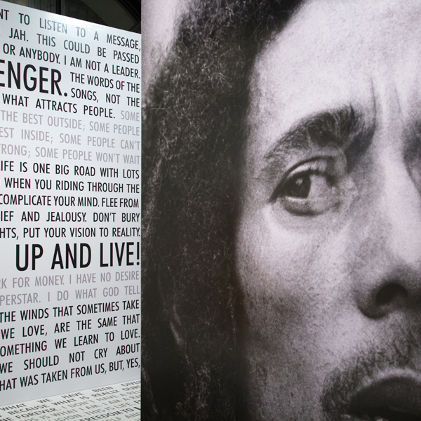 Bob Marley Messenger   Designer, 2013-2014  traveling exhibit curated by The GRAMMY Museum® at L.A. LIVE at HistoryMiami