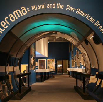 Interama: Miami and the Pan-American Dream   Guest Curator (with Jean-Francois Lejeune) 2008-2009  Co-initiated project. Funded by a $35,000.00 grant from the State of Florida Historical Museums Grants-in-Aid for Educational Exhibits.   Promises of Paradise: Staging Mid-Century Miami