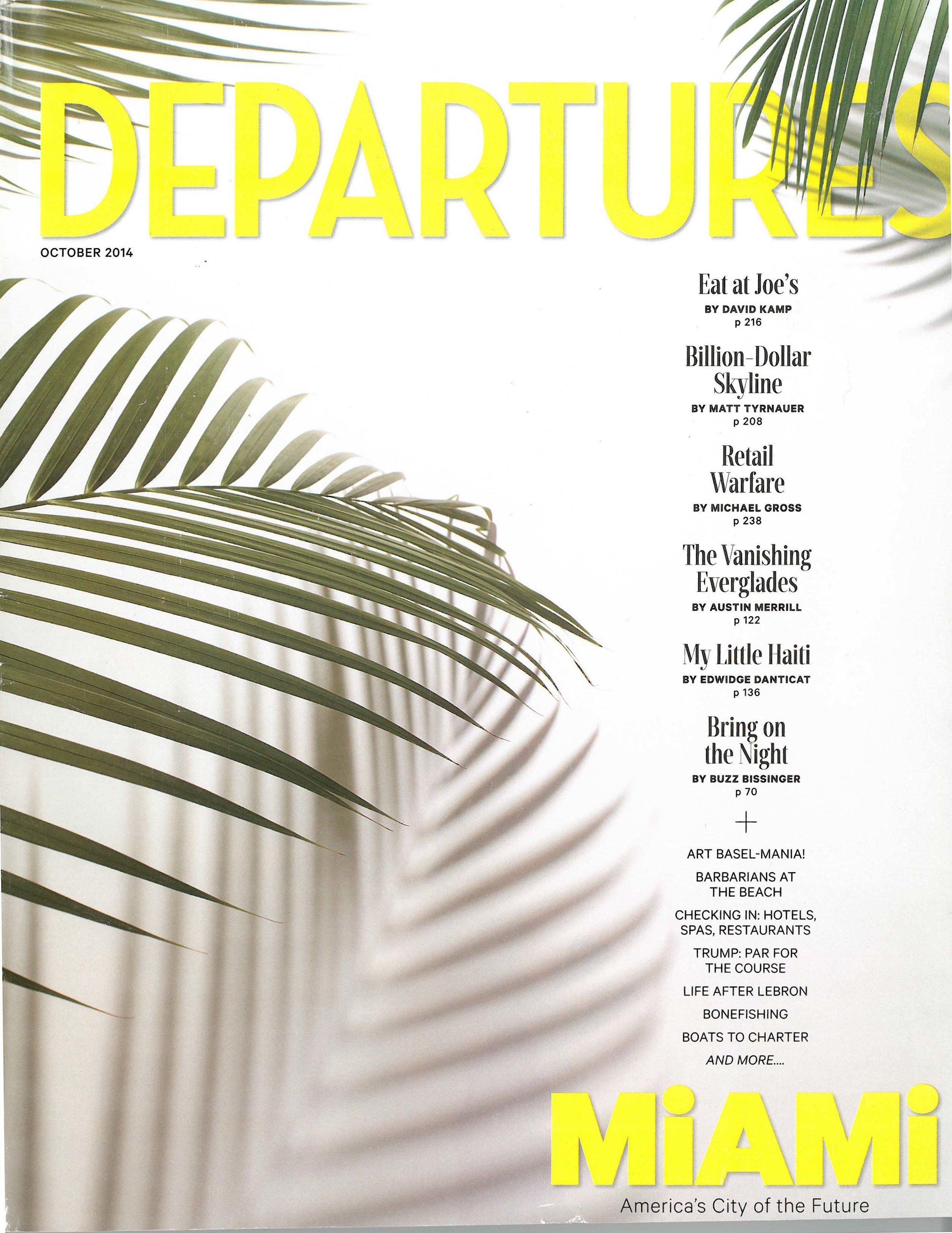 Matt Tyrna, Billion-Dollar Skyline, Departure, Oct 2014      MORE >>