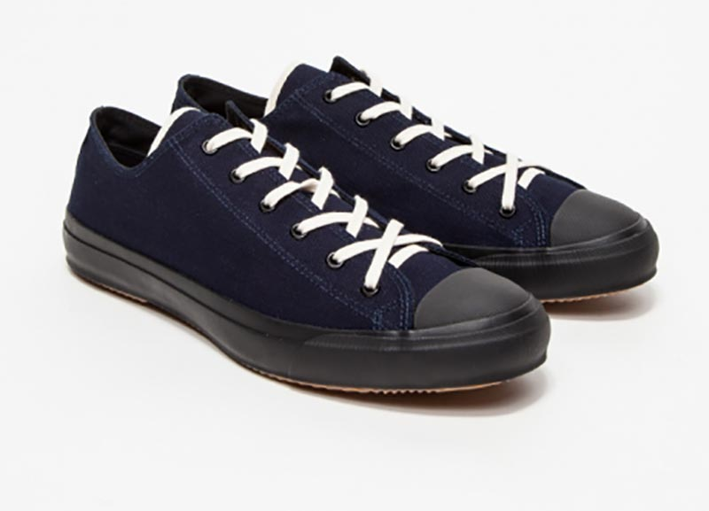 panama cloth sneakers